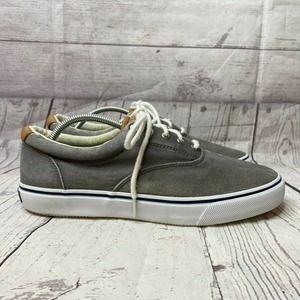 Sperry Lace Up Canvas Sneaker Shoe SZ 12